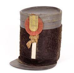 Morrión de Granadero de la Milicia Nacional 1836