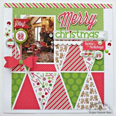 Commemorate your memories with these 10 inspirational Christmas scrapbook layout ideas. See all of the ten scrapbook layouts to get inspiration! Paper Bag Scrapbook, Christmas Scrapbook Layouts, Birthday Scrapbook, Scrapbook Sketches, Scrapbook Page Layouts, Scrapbook Supplies, Scrapbook Cards, Christmas Layout, Anniversary Scrapbook