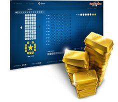 Mit #EuroMillionen haben Sie die Chance auf unglaublich viele Millionen. Jeden Dienstag und Freitag gibt es mindestens 15 Mio. Euro zu gewinnen. Kreuzen Sie einfach 5 beliebige Zahlen im oberen Zahlenfeld von 1 bis 50 und 2 Zahlen im unteren Sternenkreis von 1 bis 11 an und gewinnen Sie.