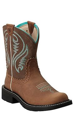 Ariat Fatbaby Heritage Women's Tan Rowdy Western Boot | Cavender's