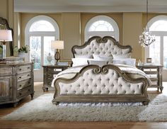 Accentrics Home by Pulaski Furniture Arabella #bedroom