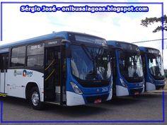 SÉRGIO JOSÉ- ÔNIBUS ALAGOAS: ônibus 0KM Completam um ano de Operação em Maceió....