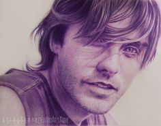 Jared Leto 30 Seconds To Mars by A-D-I--N-U-G-R-O-H-O.deviantart.com Medium: Colored Pencil.