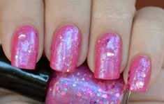 Jindie Nails, Get This Party Started, 1 mani, full size with pink label, $4, SOLD