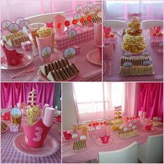 Simple princess party