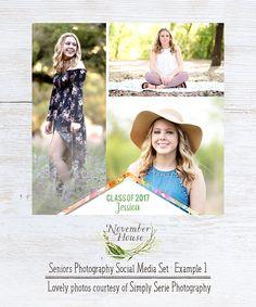 Feminine Social Media Pack, Senior Photography Marketing ...
