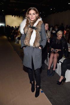 Pin for Later: Les Stars Sont au premier Rang Pour la Fashion Week de New York Olivia Palermo Au défilé Zimmermann.
