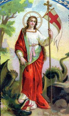 Catholic Art, Catholic Saints, Roman Catholic, Saint Martha, Medusa Art, Santa Cecilia, Spiritual Beliefs, Religious Images, Prayer Cards