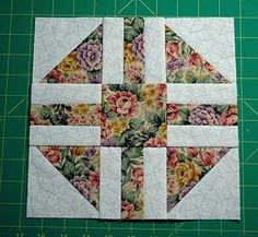 Quilting. Samples Multicolor block .. Discussion on LiveInternet - Russian Service Online Diaries