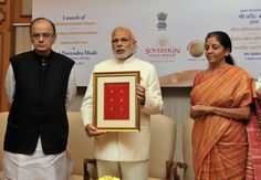 Prime Minister Narendra Modi on Thursday launched three gold-related schemes, namely the Gold Monetisation Scheme, Sovereign Gold Bond Scheme and the Gold Coin and Bullion Scheme.
