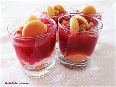 Desert la pahar cu Prigat Fruit Salad, Food, Fruit Salads, Essen, Meals, Yemek, Eten