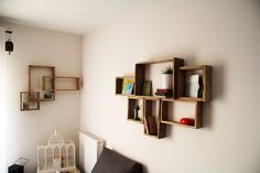 DEVA gross palette wooden wall shelf by YvaRDesigN on Etsy