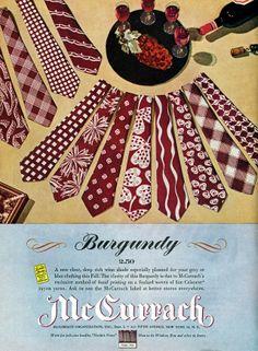 vintage 1940's  necktie advertisment