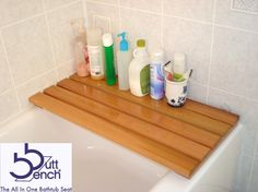Shower and Bath Tub Seats: The Butt Bench® Is Perfect! Win One Here