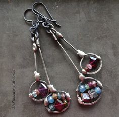 Double drops by DiPiazzaMetalworks on Etsy