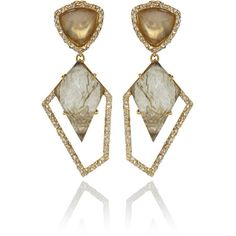 Alexis Bittar Doublet Drop Labradorite Kite Earrings