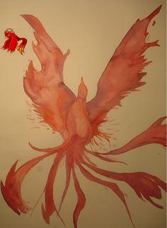 MapleStory Watercolor phoenix - MapleStory Screen