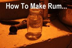 How To Make Rum (Full Tutorial). Purely for informational purposes, in case SHTF and there are no ABC stores. ;)