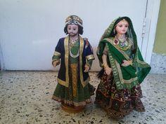 Jodha Akbar dolls