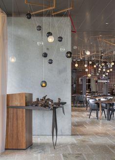 Australia & Pacific Restaurant: Penfolds Magill Estate Restaurant (Australia) / Pascale Gomes-Mcnabb Design. Mejores diseños internacionales: Mejor de Australia y Pacífico 2014 Design Awards. #reception #pod