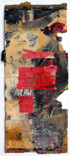 Mixed Media/Collage RED SPOTS 2013  Waldemar Strempler