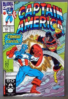 Cover for Captain America (Marvel, 1968 series) [newsstand] Marvel Comics Superheroes, War Comics, Marvel Comic Books, Comic Book Heroes, Captain America Art, Captain America Comic Books, Classic Comics, Comic Book Covers, Marvel Universe