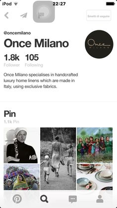 Everyone go and follow once Milano @oncemilano