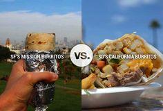 8 Reasons SD California Burritos Are Inferior to SF Mission Burritos