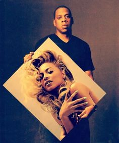 Power music couple. Jay z & Beyonce