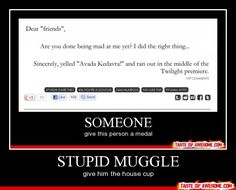 GOD. I love Harry Potter nerds.