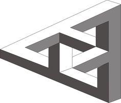 MC Escher Triangle - for applique