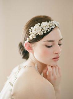 Wedding Day Adornments - Earthy Pearls 1