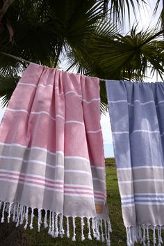 ArteMare's hand-loomed cotton hammam towels.
