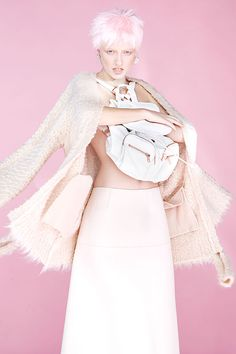 Cotton Candy Editorials : Diliana Florentin