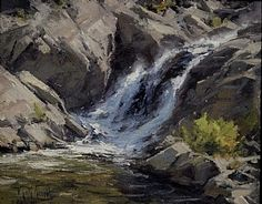 "Matt Smith Fine Art - ""Sierra Falls"""