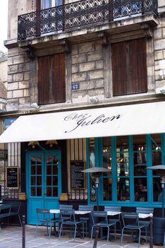 Chez Julien, Marais, Paris.