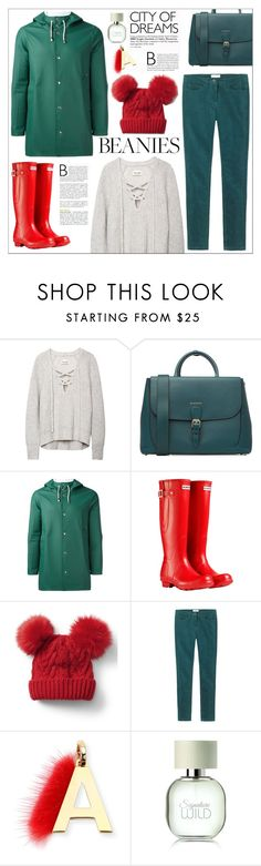 """""""Look # 703"""" by lookat ❤ liked on Polyvore featuring Burberry, Stutterheim, Hunter, Gap, Toast and Fendi"""