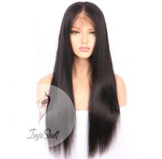 Natural Long Black Brazilian Hair Wig Price: 178.41 & FREE Shipping #hashtag3 Brazilian Hair Wigs, Black Brazilian, Wig Making, Wig Cap, Remy Hair, 100 Human Hair, Long Black, Textured Hair, Lace Wigs