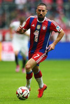 Franck Ribery of FC Bayern Munchen