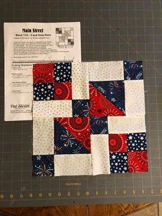 Quilt Square Patterns, Scrap Quilt Patterns, Lap Quilts, Scrappy Quilts, Half Square Triangle Quilts, Square Quilt, Triangles, Patriotic Quilts, Star Quilt Blocks