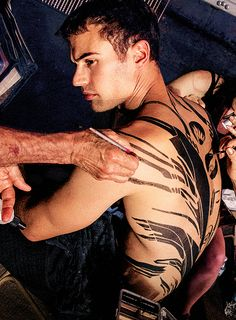 theo james abs - Google Search