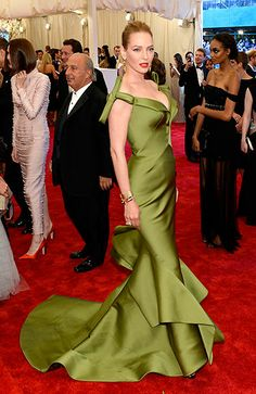 The Met Gala 2013: The Best of the Red Carpet - Uma Thurman