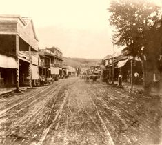 Placerville, California, 1866, during the gold rush era of El Dorado County. Want to see our top historical spots to visit? Go to: www.visit-eldorado.com