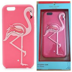 Kate spade flamingo iPhone case Silicone case for iPhone kate spade Accessories