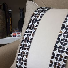 Hair-on Hide tapes are sensational accents on pillows. #brimar #trimmings #trim #tapes