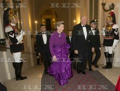 Norwegian Royals visit to Italy - 06 Apr 2016 Queen Sonja, King Harald 6 Apr 2016