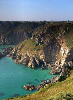 #falaises de l'#île de #Guernesey #Guernsey #cliffs #Channelislands