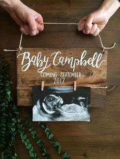Baby reveal baby announcement pregnant couple new baby