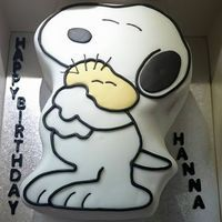 Snoopy Cake                                                                                                                                                                                 More
