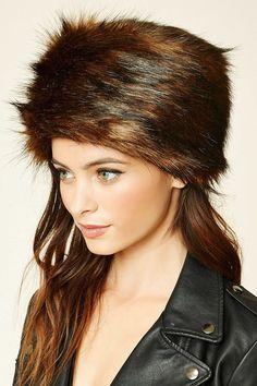 FOREVER 21 Faux Fur Hat
